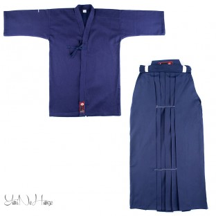 Kendo uniform Set Basic all BLUE | Kendo Gi + Hakama