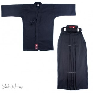 Kendo uniform Set Basic all BLACK | Kendo Gi + Hakama