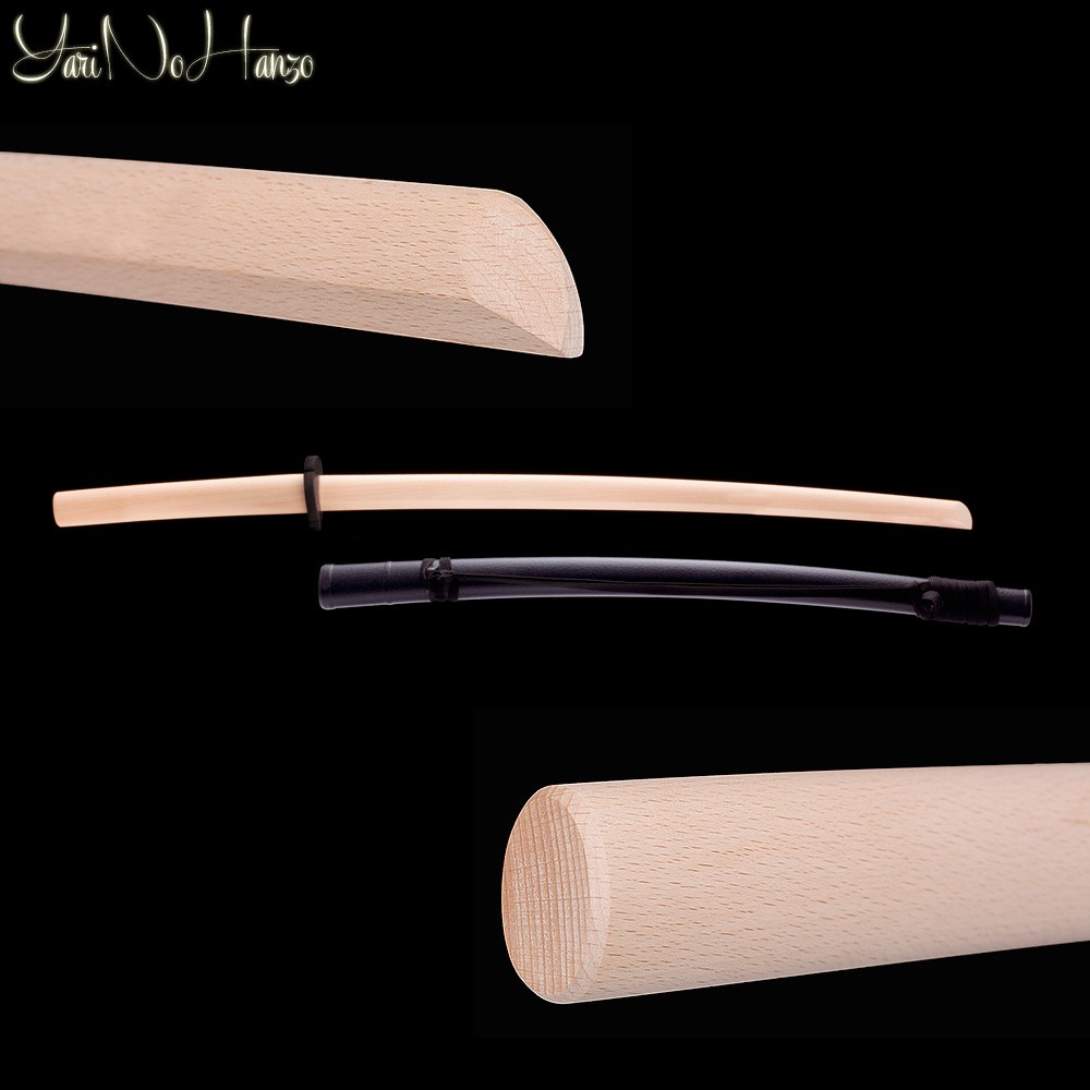 Bokken with Saya | Beech Daito with scabbard | Bokuto with Saya