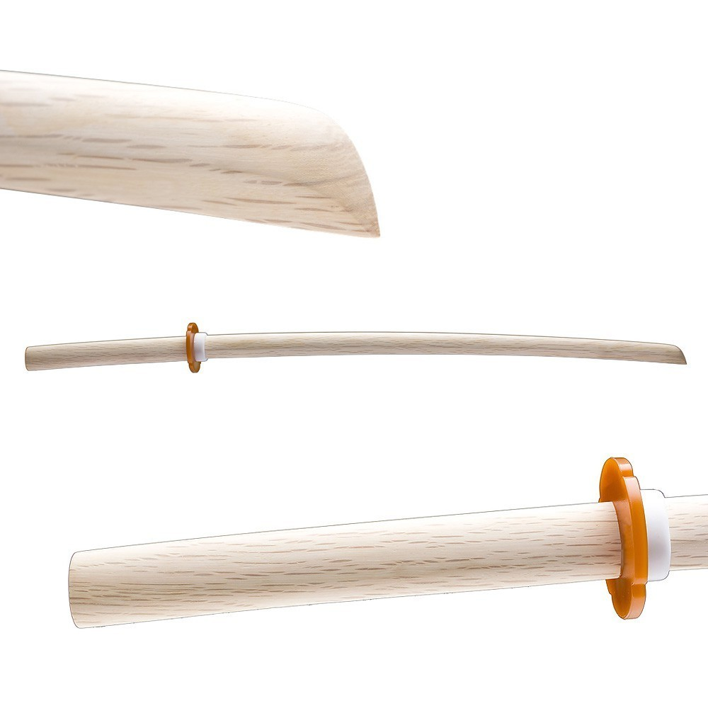 Bokken white oak | Japanese White oak Daito | Bokuto Shiro Kashi