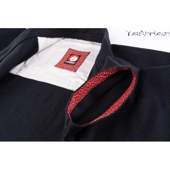 Nami Kendo Gi black | Handmade Kendogi  | YariNoHanzo handmade