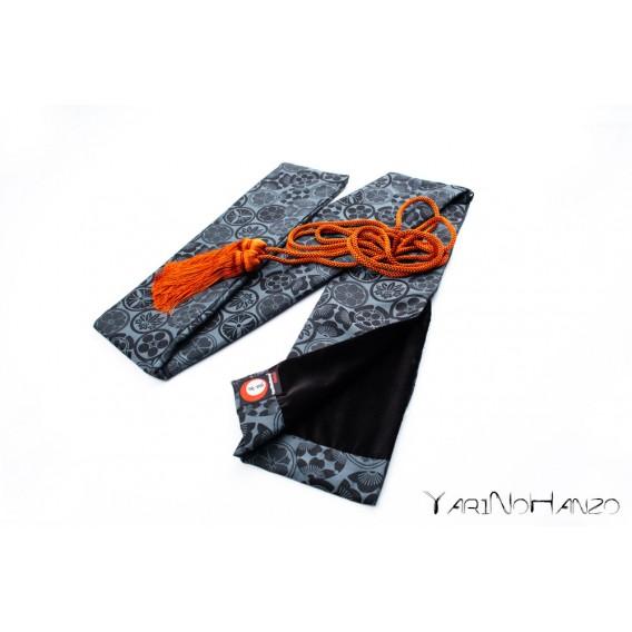 Katana Bukuro Kamon (light background) | Bag For Katana and Nihonto