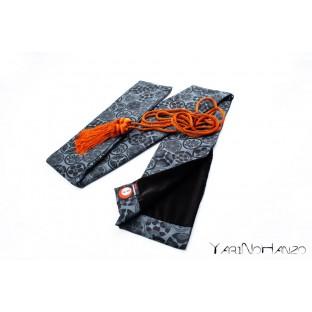 Katana Bukuro Kamon (light background)   Bag For Katana and Nihonto