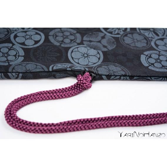 Katana Bukuro Kamon (dark) | Bag For Katana and Nihonto