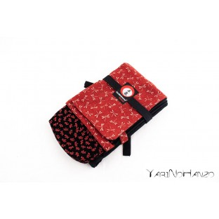 Shinai Bukuro TOMBO RED | Shinai bag TOMBO | Bag For Shinai, Bokken and Jo